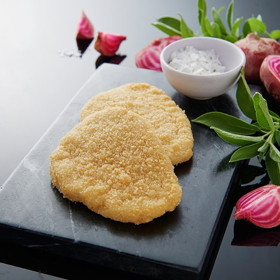 Breaded steak, 85 g