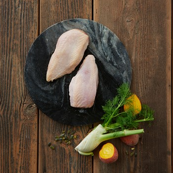 Fillet with skin 100-140g Farmer's chicken